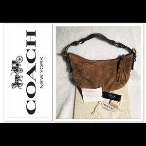 COACH Suede Handbag & Suede Cleaner
